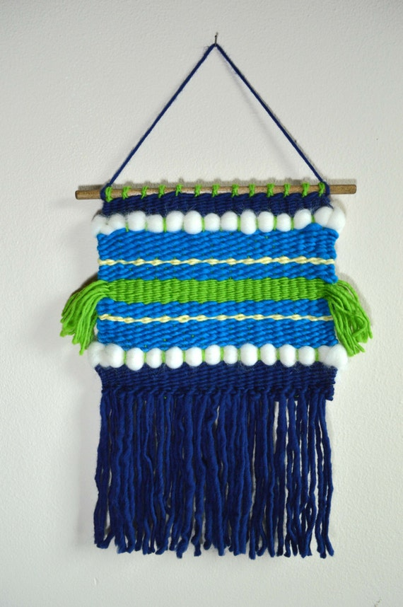 Basket Weaving Supplies Singapore : Kid s weaving kit for wall art blue from