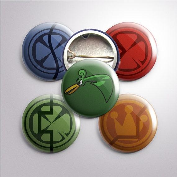 "Minish Cap-Themed 1"" Buttons"