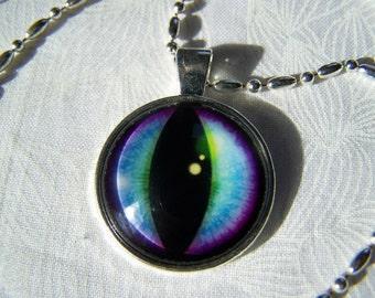 Cat Eye Pendant Photo Glass