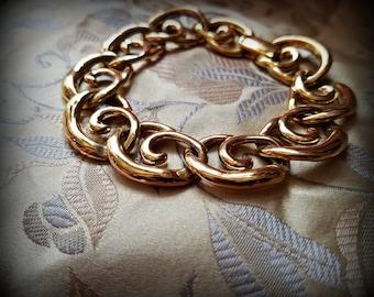 Napier Golden Curlicue Bracelet