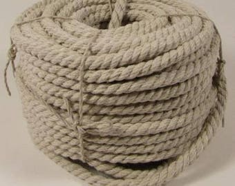 Natural Hemp Rope 6mm