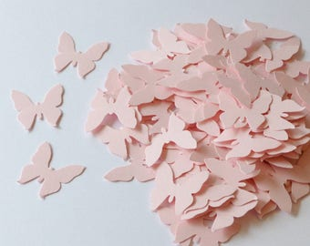 2700 Light Pink Butterflies