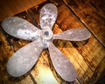 Vintage boat propeller. 5 bladed