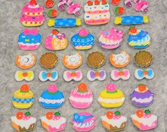 Mixed Birthday Cakes Stickers