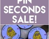Pins seconds sale