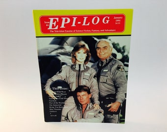 Vintage Magazine Epi-Log #4 January 1991 Blue Thunder Airwolf