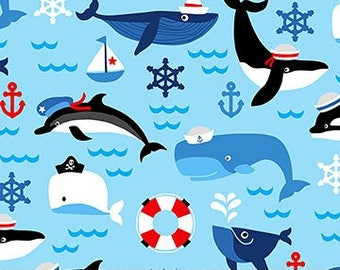 First Mate Whales by Northcott