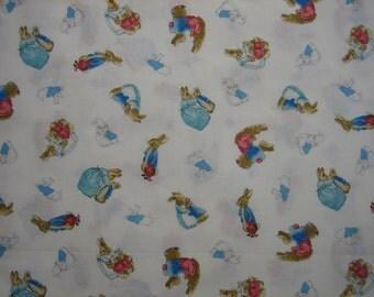 Peter Rabbit fabric Quilting Treasures