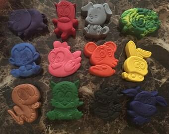 Zodiac animal Crayons
