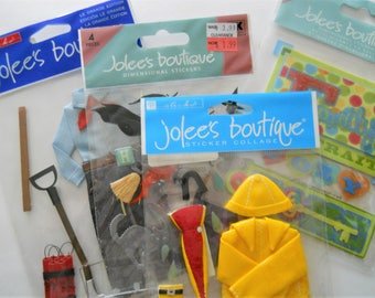 Jolee's Boutique Scrapbooking Supplies - 3D Stickers - Cardmaking Embellishments - Craft Supply Destash