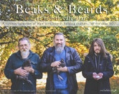 Beaks & Beards 12 Month Calendar for chicken and beard lovers! Limited Edition Signed!