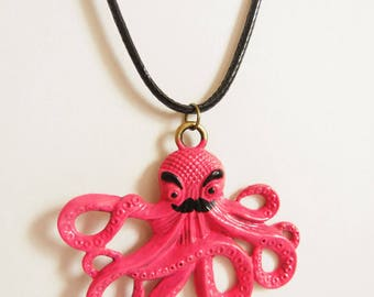 Mr Octopus Necklace