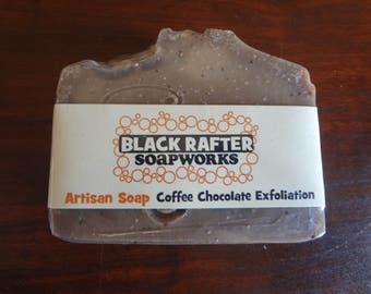 Coffee Chocolate Exfoliation Artisan Soap