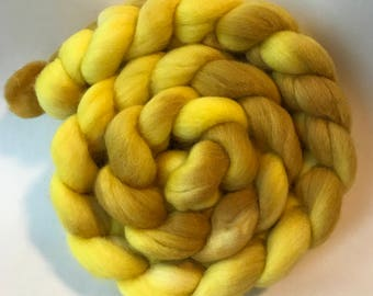 Polwarth silk spinning top Pollen 4 oz, roving
