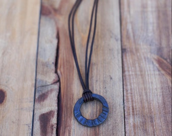 Orbit Charm Necklace. One-of-a-kind Blacksmith's Necklace