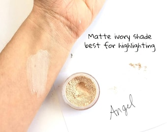 Angel Cream Eye Shadow - Mineral Eye Shadow Natural Matte Eye Makeup Color- Ivory Eye shade