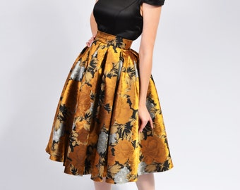 Marisa Brocade skirt