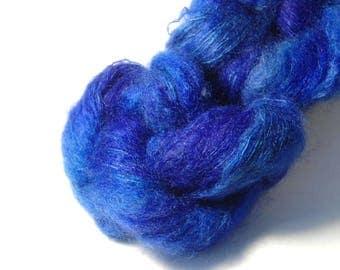 HANA Kidmohair Silk in Deep Blue Waters - One of a Kind