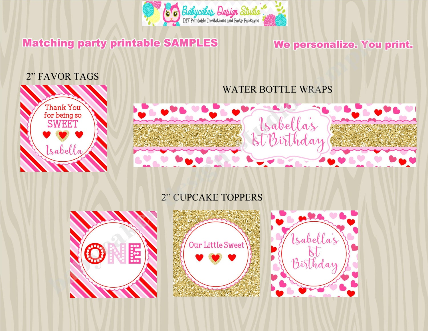 Valentine Birthday Invitation Invite 1st birthday valentine\'s day ...