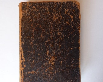 AUTUMN SALE 1917 Holy Bible Leather Bound