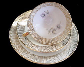 Winterling Trio Teacup Saucer and Side Plate - Bavaria Germany - 13898