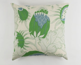 Christopher Farr Carnival (Both Sides) Knife Edge Pillows (shown in Green-comes in 6 colors)