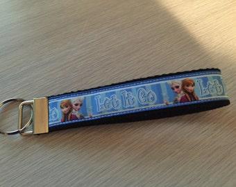 Key Fob Wristlet Disney Frozen