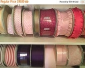 New Year Sale Assorted lot of Ribbon crafting Ribbons, 100 Assorted Yard Lot
