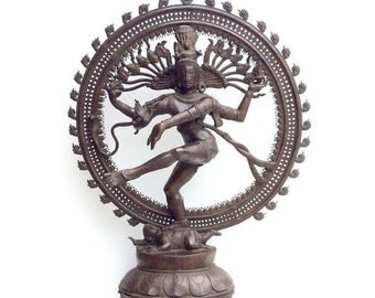 ON SALE Nataraja Statue Large Shiva Nataraja Statuary Shipping Included in the Domestic U.S.