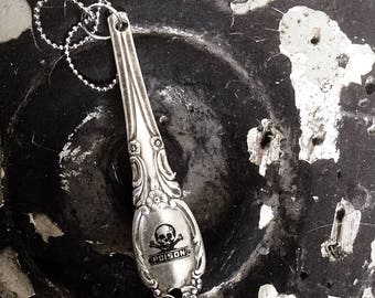 Spoon Handle Pendant - Poison