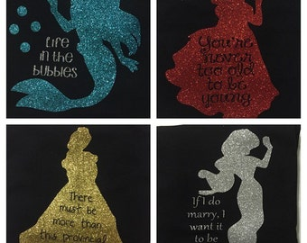 Disney Princess Custom Shirts