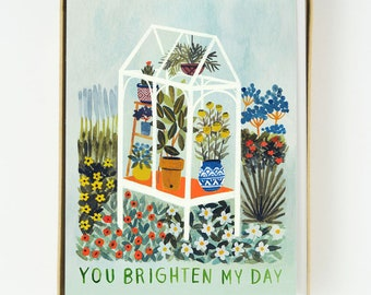 Brighten My Day Greenhouse 8pcs