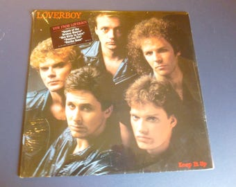 Loverboy Keep It Up Vinyl Record LP QC 38703 Columbia Records 1983