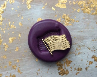 American Flag flexible silicone mold /mould