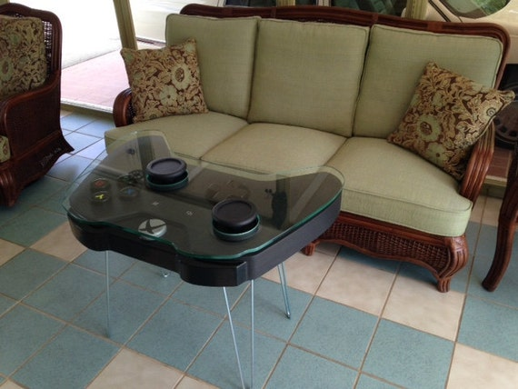 Handmade Game Controller Table XBOX One Inspired - Sofa game