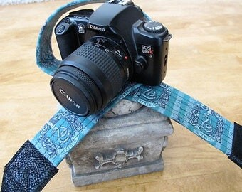 Slytheryn Camera Strap Harry Potter