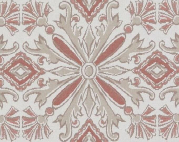 Designer Pillow Cover - Lumbar, 16 x 16, 18 x 18, 20 x 20, 22 x 22, Euro JR NMK Coral