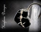 Barbed Wire, Heart Lock, working lock, lock and key  Love Lock
