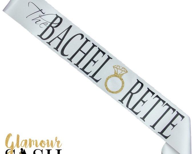 Bachelorette Party Sash - Bride To Be - Future Mrs.  - The Bachelorette - Bride Sash - Bridesmaid Sash  - Personalized - Custom Sash