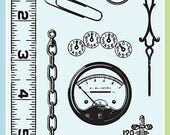 Gadgets- Clear Stamp Set from Inkadinkado