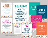 LipSense Colorful Stripe - Party Kit