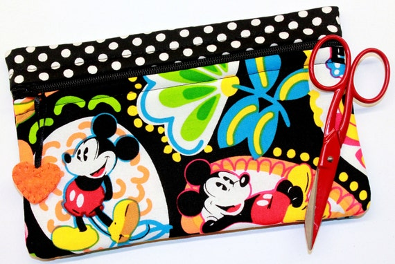 Side Kick Paisley Mickey & Minnie