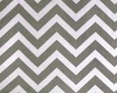 Charcoal/Snow Chevron Minky | Shannon Fabrics