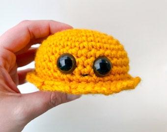 Lil Dreambly Amigurumi Crocheted Stuffed Animal Plushie Monster