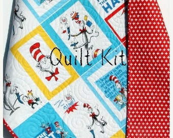 Quilt Kit Dino Riffic Panel Quick Easy Fun By Sunnysidefabrics