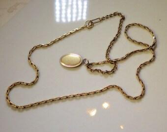 Linkd WatchChains Gold Fill Victorian Rectangular Links 1880s