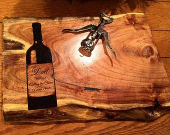 Rustic cheese board design your own