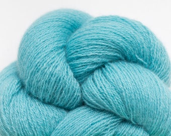 Bahama Blue Recycled Cashmere Lace Weight Yarn, CSH00251