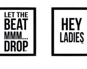 Custom Listing for Melissa: 4 Beastie Boys 8x10 Digital Prints