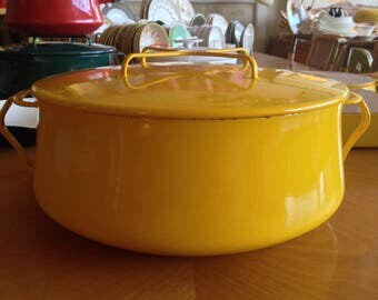 Yellow Dansk Kobenstyle Pot